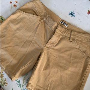Tan Roxy Shorts